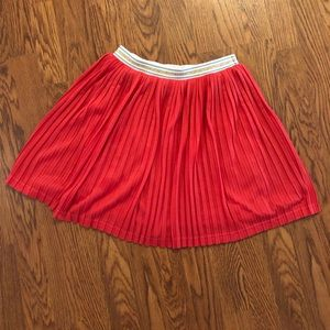 Johnnie B by Boden | Coral Pleated Skirt